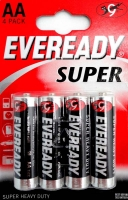 Eveready Super Heavy Duty AA FSB4