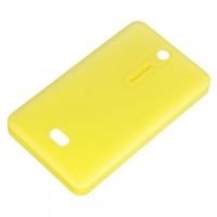 Nokia Shell CC-3070 for Nokia Asha 501 Yellow