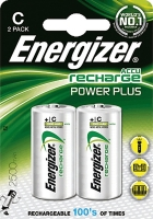 Energizer Rechargeable Power Plus C 2500 mAh FSB2