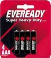 Eveready Heavy Duty AAA (R03) SHP4